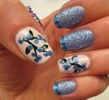 Textured Blueberries