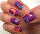 Lisa Frank Inspired Shooting Stars