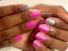 Essie nail polish and matte top coat