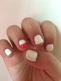 Half Half Nails