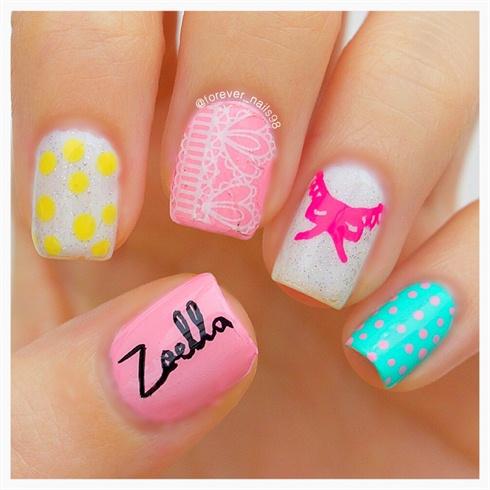 Zoella Beauty Nail Art