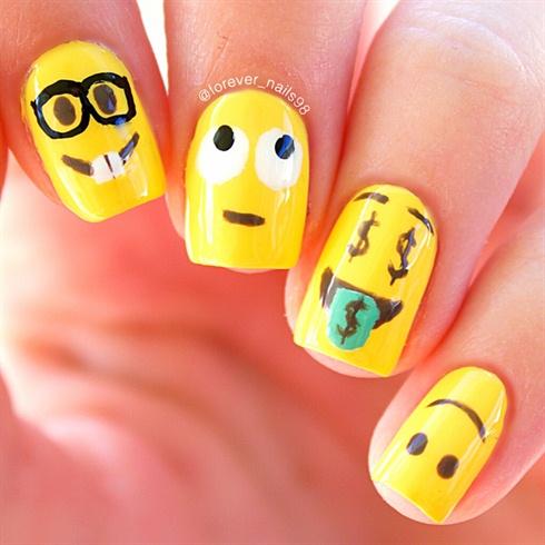 Emoji Nail Art Nail Art Gallery