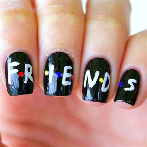 FRIENDS Nail Art