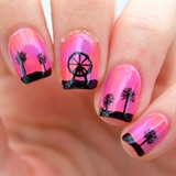 Coachella Festival Nail Art