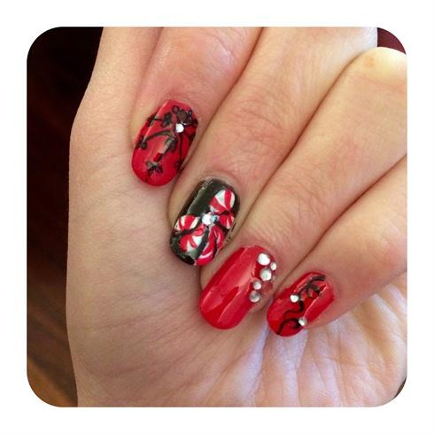 Christmas black&red