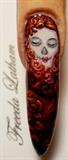 Lady Skull in roses