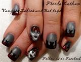 Vampire Ladies Halloween nails