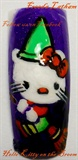 Hello Kitty on the Broom