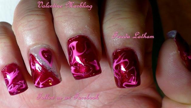 Valentine Marbling