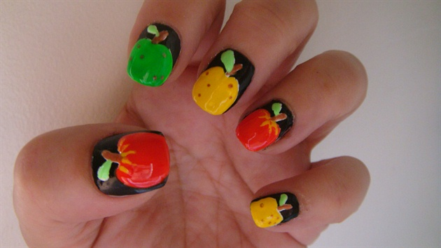 Apple Nail Art Design Nail Art Gallery