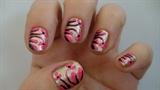 Garden nail art design