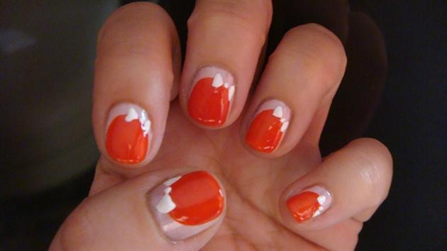 Easter nail art design #2