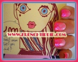 Pink Fade Sparkle 2