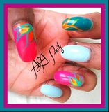 Parrot Nails