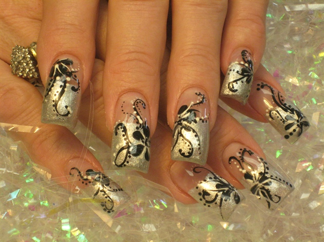 """""""UNIQUE II"""" Nails by Lily Cobieya"""""""