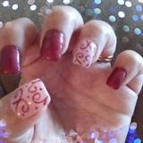 Pink Scrolling