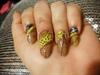 Skeleton Leaf Manicure