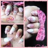 Pink & White Gradient