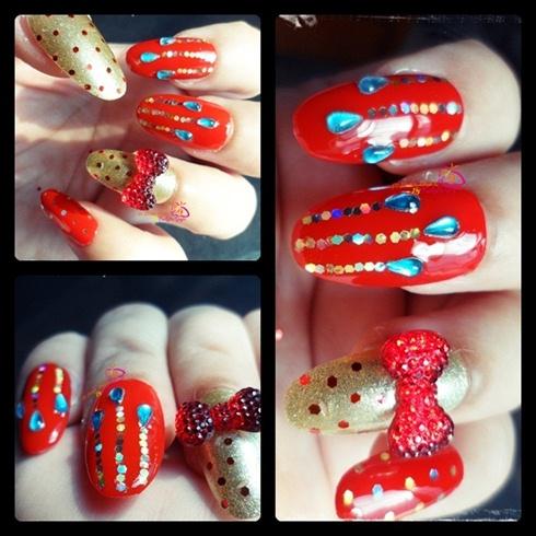 Desi Bridal Manicure