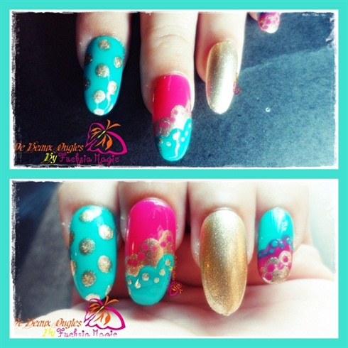 Desi Wedding Nails 2
