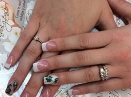 nail art: St Patty's day