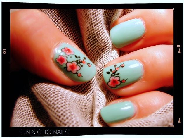 Sakura nails - Nail Art Gallery
