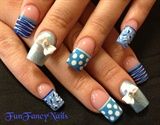 Blue Bows!