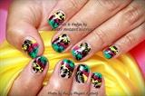 Gelish Holiday Tropical nails