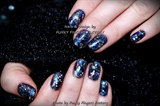 Gelish Galaxy nails
