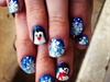 Snowflakes w/ Snowman & Penguin