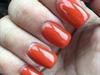 Burnt Orange Acrylic Nails