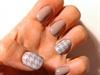 Pied de poule nails