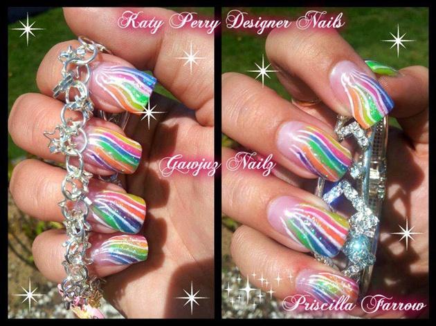 Katy Perry Nail Design :)