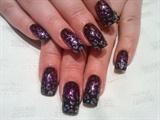 glitter glam leopard print :)