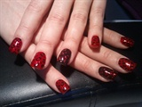 red glitter leopard print :)