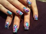 foil zebra print :)