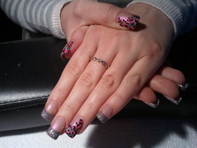 bitta glitter & a bitta leopard :)