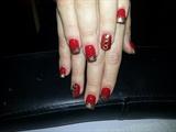 red xmas bling :)