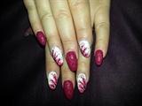 cherry blossom & matt polish :)