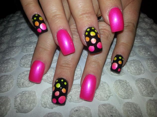 neon bubbles :)