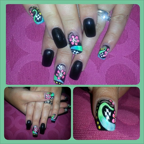 brights on black :)