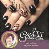 Gel II™ Black Leopard Print