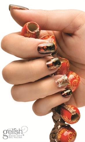 Snake Eye Nail Art Step-By-Step