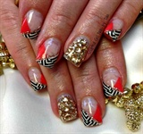 Gold Chevron BLING!