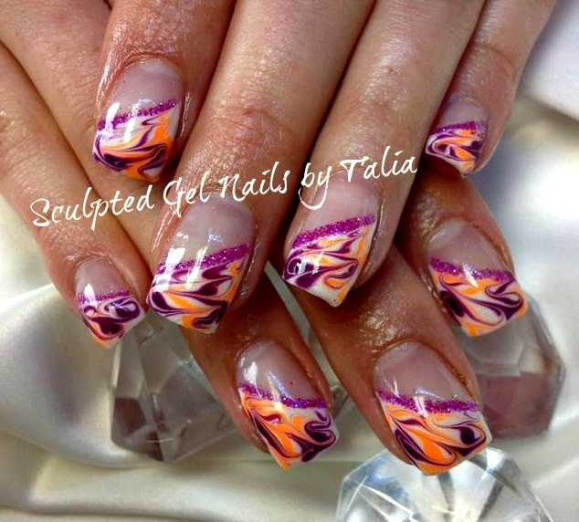 Marble MANIA! - Nail Art Gallery