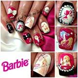 Barbie Nail Art!
