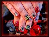 Spooky Red Halloween!