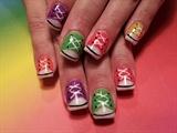 tennis shoe nails