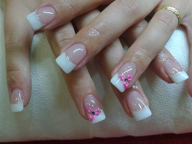 freancesa con florecita