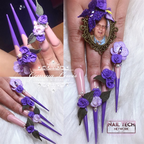 Extreme 3D Acrylic Nails